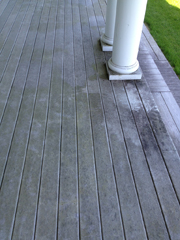 Click here for a larger view of this residential pressure washing image